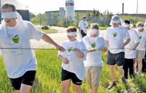 Æbledag i Hirtshals: Malerne tog sportstøjet på og gav den gas!