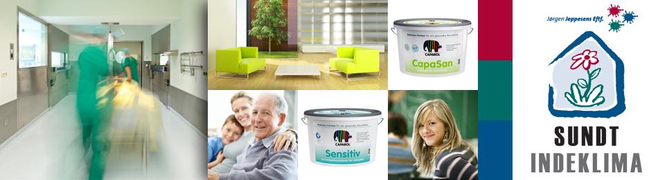 Få et sundt og miljørigtigt indeklima med intelligente malinger
