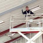 Brandmalings-opgave udført hos Hirtshals El-Motorservice