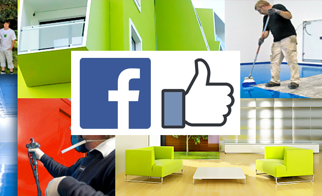 Hold dig opdateret med Malerfirmaet Jeppesen på Facebook