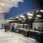 Friskmalet Bilka kiosk og kundeservice i Aalborg Storcenter