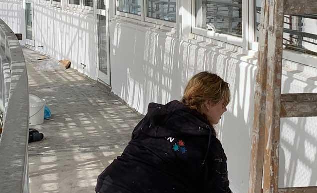 Flot og grundig facelift til boliger hos Nørresundby Boligselskab - udført af Malerfirmaet Jeppesen