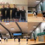 To Jeppesen malerteams deltog i årets første indefodbold-turnering