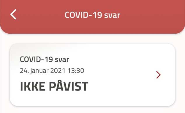 Covid-19 forholdsregler