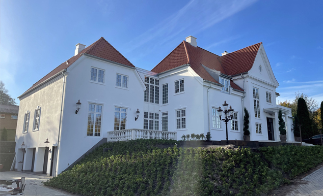 Hasseris Aalborg - flot facaderenovering